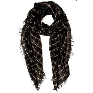 Chan Luu Scarf / Plaid Mix